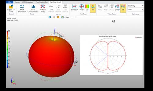 ZWSim Post-processing red apple image
