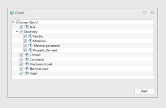 Computer dialog showing checking for higher precision